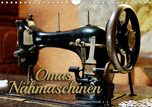 Omas Nähmaschinen (Wandkalender 2021 DIN A4 quer)