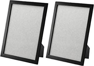 FISKBO Frame 8 1/4-by-11 3/4-inch Simple frame for documents or photographs, multiple Colour (2, black)