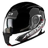 Astone Helmets RT1200G-TOBWL Casque Modulable RT1200 Touring, Noir Blanc, L