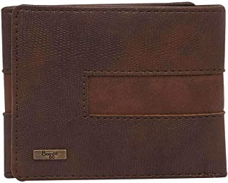 Baggit Mens 1 Fold Wallet (Brown_Small)