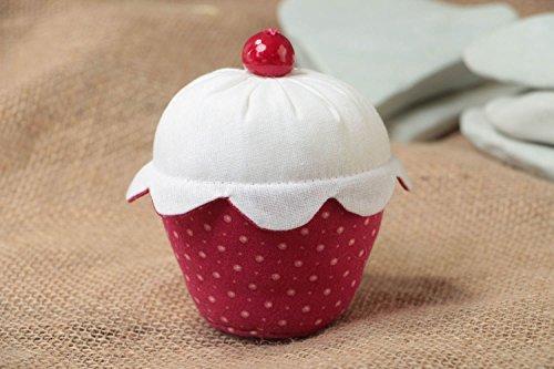 Beautiful Handmade Fabric Soft Pin Cushion Funny Designer Accessory Cake