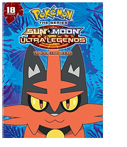 Pokemon the Series: Sun and Moon - Ultra Legends: The Alola League Begins Season 22 Set 2 (DVD)