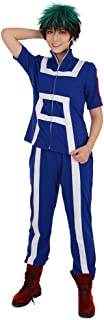 Women's U A High School Gym Uniform Suit Cosplay Sportswear