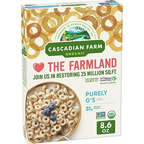 Cascadian Farm, Cereal, Purely O'S, Organic, 9 oz