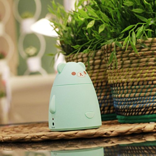 YL Humidificador de Coche Mini Aire Limpio Humidificador de Escritorio,Azul