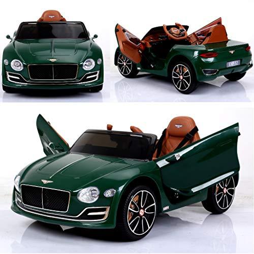 RC Auto kaufen Kinderauto Bild: Bentley Elektro Kinderauto / Ledersitz / 2 x 390 Motor / 2 x 6V4AH Batterie / Modell 2018*
