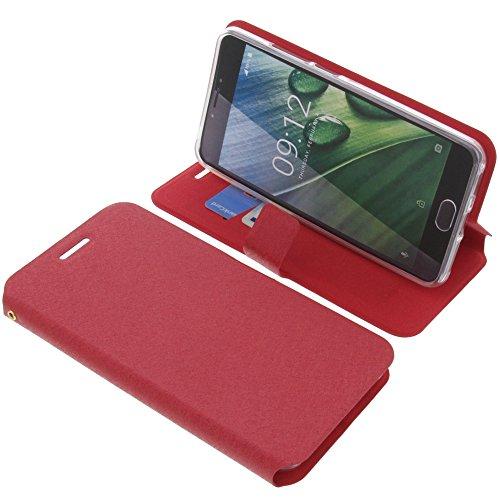 foto-kontor Tasche für Acer Liquid Z6 Plus Book Style rot Schutz Hülle Buch