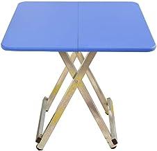 XXT lite drewno kwadratowy stół składany stół łatwy stolik kawowy kwadratowy stół do jadalni dom 60 * 60 * 55 cm trwały (k...