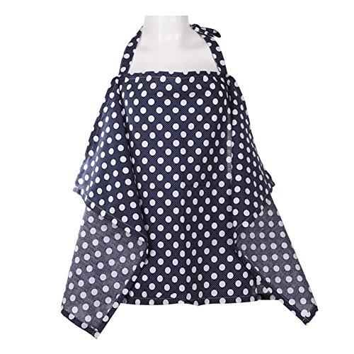 Livecity Femme Maternité allaitement Infants allaitement Coton allaitement Tablier Cover Up, Coton, mélange, 3