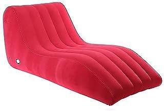 Uppblåsbara soffa Uppblåsbara stolar för vuxna Vattentäta och hållbara luftläckande luftsoffor Flockande Uppblåsbara soffa...