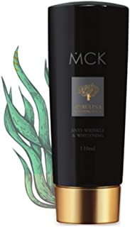 Spirulina MCK Sleeping mask. Korean Skin Care. Hydrating sleeping mask.Restores nutrients and moisture to skin and Get rid of Winkles. Brightening and anti wrinkle effects. Kbeauty.