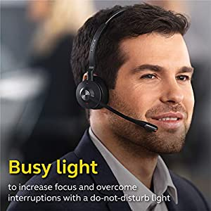 Jabra Engage 65 Wireless Headset, Mono – Telephone Headset with Industry-Leading Wireless Performance, Advanced Noise-Cancelling Microphone, All Day Battery Life
