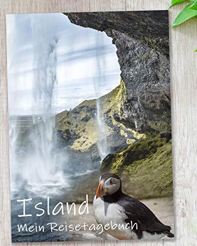 Reisetagebuch Island zum Selberschreiben | interaktiv mit spannenden Aufgaben, wunderschönen Fotos, Zitaten und viel Abwechslung | dein persönlicher Reiseführer mit deinen Highlights | Geschenkidee
