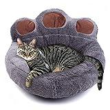 TBUDAR Cama de Gato, Casa de Dormir para Gatos para Gatos Canasta Mat de Invierno Cálidas de Invierno Tumbona para Cat Panier Cama Mascota Productos para Gatos (Color : 3, Size : Medium)