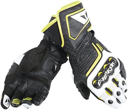 Dainese Carbon D1 Long Handschuhe Schwarz Weiss Fluo Gelb Größe Xxxl Auto