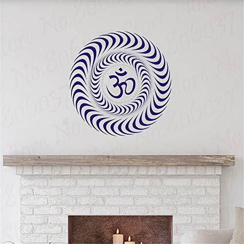 olwonow Sonidos sagrados y símbolos espirituales en la religión india-66x66cm