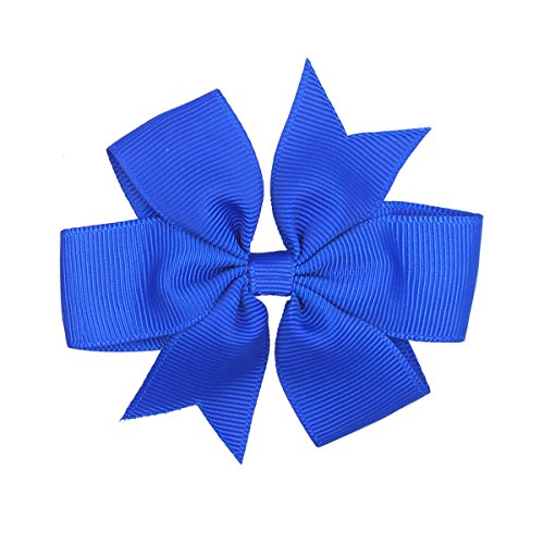 40pcs Boutique Grosgrain Ribbon Hair Bows with Alligator Clips for Baby Girls Toddlers Kids in Pairs