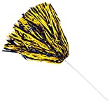 Anderson's Spirit Shaker Stick Pompoms -Navy and Gold, Package of 10