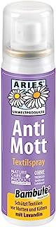 Aries4040 - anti-polillas, repelente de polilla, aerosol contra las polillas, Rociado textil, 2...
