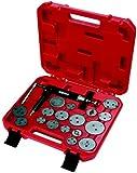 KS Tools 150.2000 Jeu d'outils universels pour Etrier de frein avec pistolet pneumatique 18 pièces