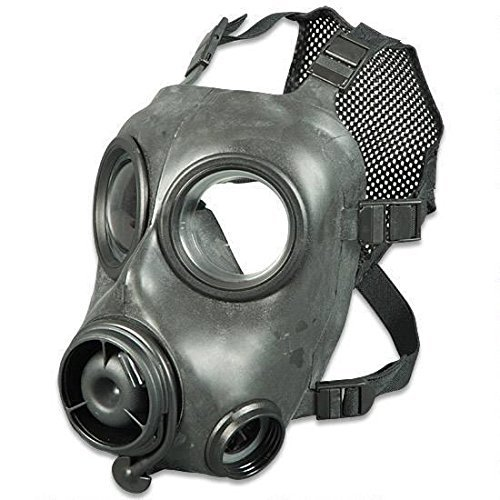 Avon FM12 CBRN Respirator Gas Mask, Right Side, Medium
