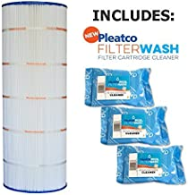 Pleatco Cartridge Filter PA200S Hayward Swimclear C200S CS200XRE w/ 3x Filter Washes