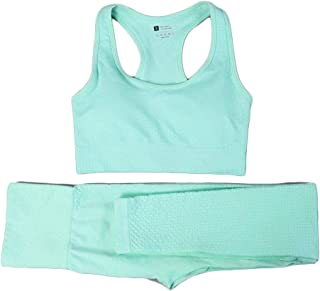 XFKLJ Sports Bra Yoga Pants Sale Summer Women Gym Suit 2 Piece Set Women Gym Set Fitness Clothing Yoga Set Gym Clothing