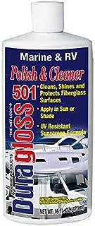 Duragloss 501 Marine/RV Polish and Cleaner, 16-Ounce, Fluid