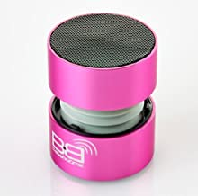 BassBoomz High Performance Portable Bluetooth Speaker - Pink