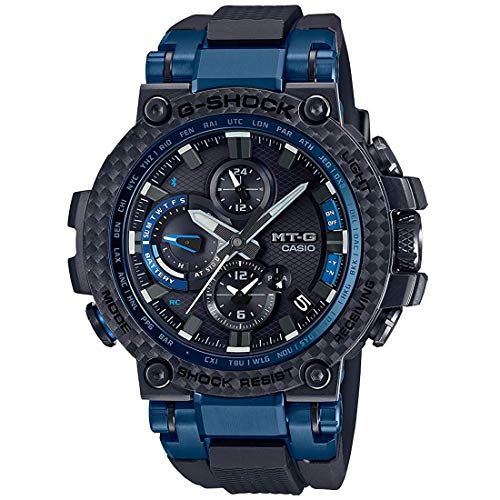 Men's Casio G-Shock MT-G Connected Black Resin Band Watch...