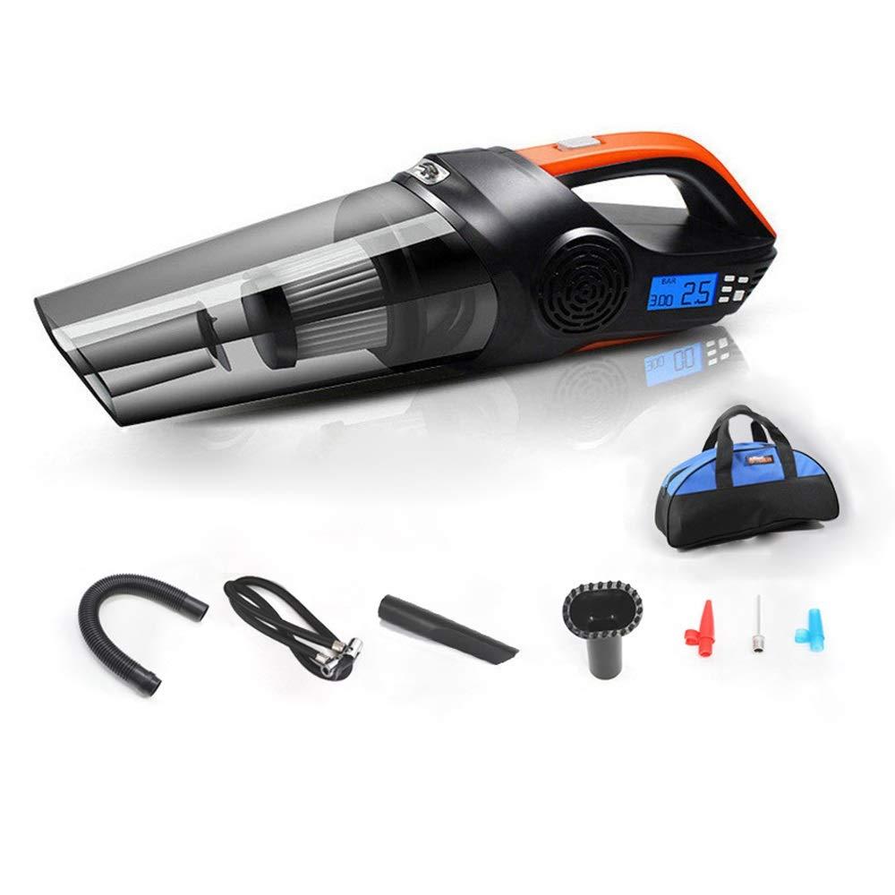 ETH Aspirador multifunción Aspirador de alta potencia de 120 vatios/Inflable/Iluminación/Presión de los neumáticos/Presión de los neumáticos Preset Aspirador de pantalla digital con bolsa de a: Amazon.es: Coche y moto
