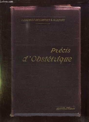 PRECIS D OBSTETRIQUE. 6em EDITION.