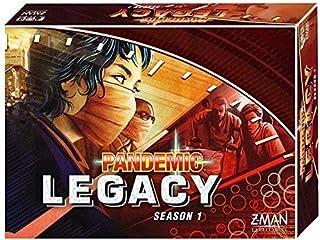 Z-Man Games Pandemic: Legacy Season 1 (Red Edition)