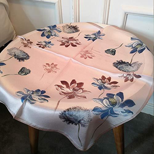 Sjaal van zijde, vierkant, fashion zakdoek, bloem, dierplant, vintage, elegant, temperament, eenvoudige vakantie, cadeau, ademend, dun 8
