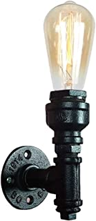 Jorunhe Loft Style Iron Water Pipe Wall Sconce Wall Lights Fixture