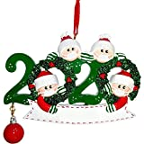 HehiFRlark - Colgante de árbol de Navidad con diseño de Papá Noel