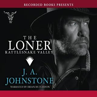 The Loner audiobook cover art