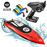 Best RC Boats - Altair AA102 RED RC Boat for Pools or Review