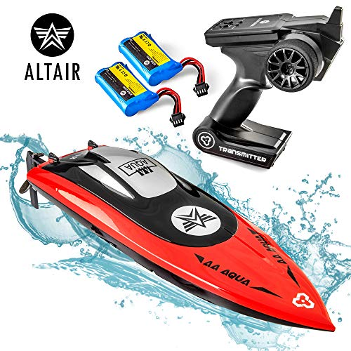 Altair AA102 RED RC Boat for Pools or Lakes [Ultra Fast Pro Caliber]...