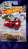 Hot Wheels Scoopa Di Fuego 2017 Holiday Hot Rods #1/6 Gold Diecast 1:64 Scale