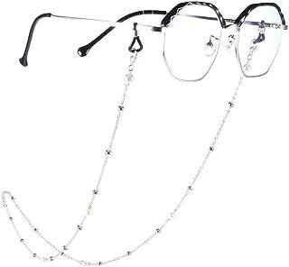 Yienate Bohême Chaînes de lunettes pour femme avec chaîne de perles Accessoires de lunettes – Support de sangle de lunette...