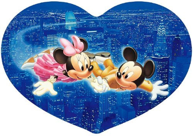 garantizado Stained Art Art Art Series Heart full puzzle Disney 307 piece night flight DSH-307-451 (japan import)  edición limitada