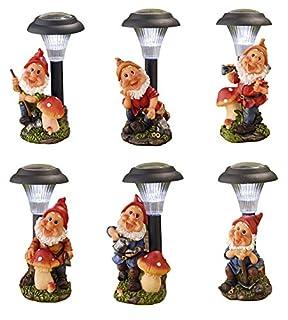 Edco 871125295808 Solar Garden Gnome