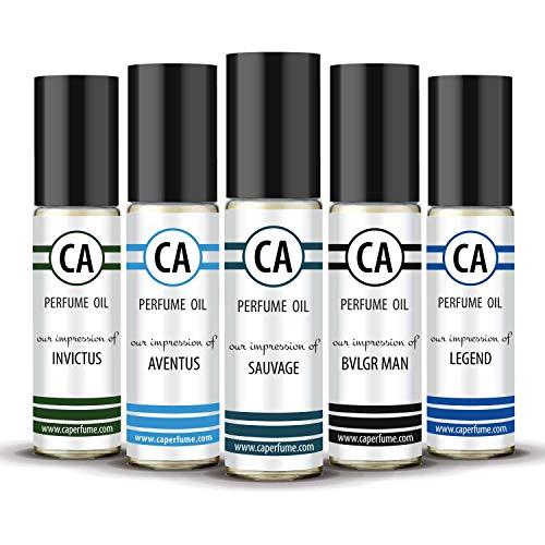CA Perfume 2020 Most Attractive Men Set Impression of (Aventus + Sauvage + Bvl....