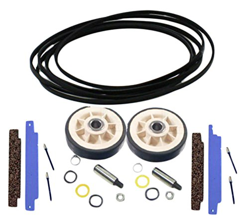 Dryer Repair Kit for Maytag, 312959, 306508, 12001541 Belt Rollers for Whirlpool, Maytag