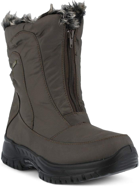 Springaa Step Woherrar Zigzag BootFärgbspringaaa färgNylon färgNylon färgNylon Boot  fabriks direkt