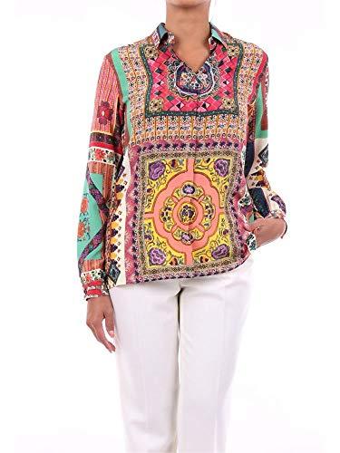 Etro Luxury Fashion Damen 135514418FANTASIA Multicolour Seide Hemd | Jahreszeit Outlet