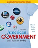 Bundle: American Government and Politics Today, No Seperate Policy Chapters Version, 2011-2012, 15th + CourseReader Printed Access Card for American Government
