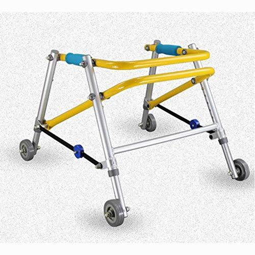Independiente Go Mobile niños Walker, de aluminio ajustable en altura del marco niños discapacitados excursionistas Altet barra retráctil Cochecito Wanderers, Pequeño liuchang20 ( Size : Small )