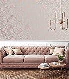 Super fresco 106401 Papel pintado, oro rosa, 1000cm length x 52cm Wide